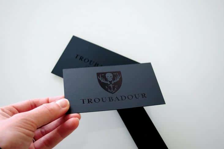 Business cards hang tags stitch design co toubadourtag troubadourbusinesscard3 troubadourbusinesscards troubadourbusinesscards2 reheart Gallery